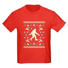 Sasquatch Sweater Tees T