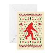 Sasquatch Sweater Tees Greeting Card