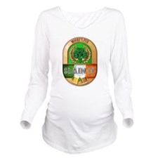 Moore's Irish Pub Long Sleeve Maternity T-Shirt