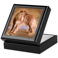 Cavalier King Charles Spaniel Ruby Keepsake Box