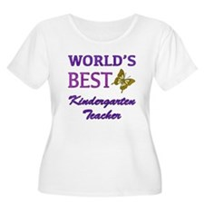 World's Best Kindergarten Teacher T-Shirt