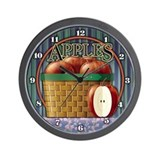 Apple Wall Clock