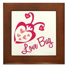 Love Bug Framed Tile