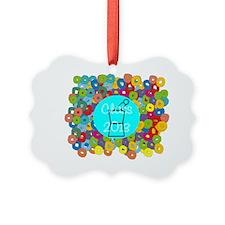 pharmacist grad abstract Ornament