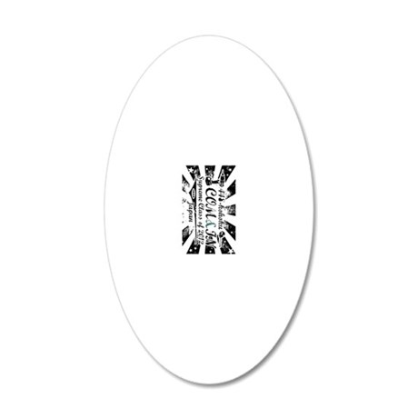 Keychain Hama Front 20x12 Oval Wall Decal