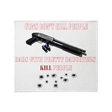 Shotguns dont kill 2 Throw Blanket