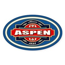 Aspen Old Label Decal