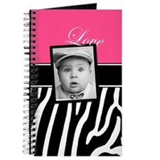 Pink Zebra Photo Journal