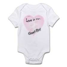 Pyr Love Is Infant Bodysuit
