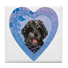 PWD-heart Tile Coaster