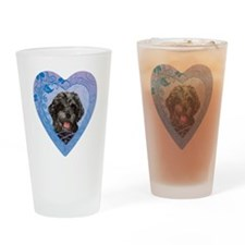 PWD-heart Drinking Glass