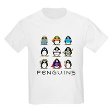 Nine Penguins Kids T-Shirt