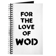 For the Love of WOD Journal