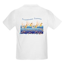 Synchronized swimming Kids T-Shirt