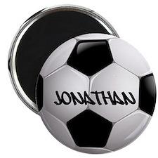 Customizable Soccer Ball Magnets