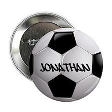 "Customizable Soccer Ball 2.25"" Button"