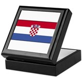 Croatia Flag Keepsake Box