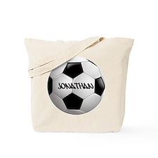Customizable Soccer Ball Tote Bag
