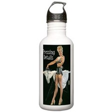 pressing details journ Water Bottle