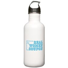 REAL WOMEN COUPON Water Bottle