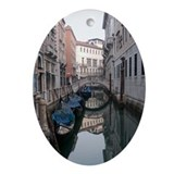 Venetian Canal Oval Ornament