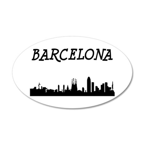 Barcelona Wall Decal