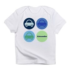 Toy Cars Personalisable Infant T-Shirt
