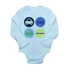 Toy Cars Personalisable Body Suit