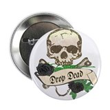 DROP DEAD Anti-Valentine Button