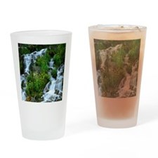 Mountain spring Drinking Glass