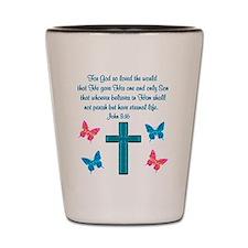 JOHN 3:16 Shot Glass