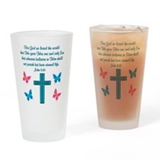JOHN 3:16 Drinking Glass