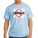 No Liberals Ash Grey T-Shirt