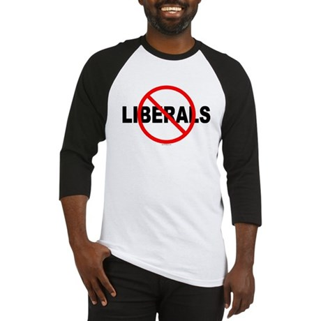 No Liberals Baseball Jersey