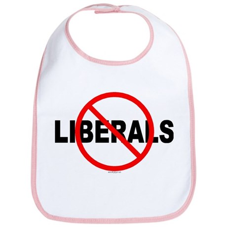 No Liberals Bib