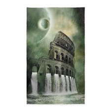 The flood of Rome 3'x5' Area Rug