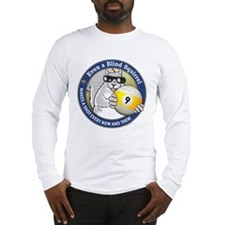 9-Ball Blind Squirrel Long Sleeve T-Shirt