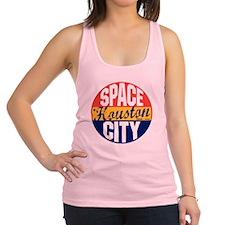 Houston Vintage Label B Racerback Tank Top