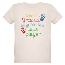 Future Tuba Player Organic Kids T-Shirt