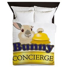 Bunny Concierge Queen Duvet