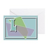 Abstract Design Greeting Cards (Pk of 10)