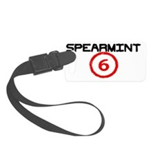 spearmint 6 logo mine n leons Luggage Tag