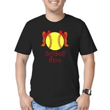 Softball mom red head T