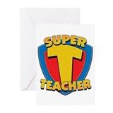 Super Teacher Greeting Cards (Pk of 10)