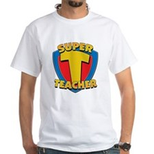 Super Teacher White T-Shirt