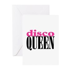 DISCO QUEEN Greeting Cards (Pk of 10)