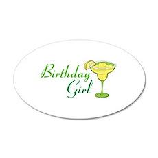 Birthday Girl margarita Wall Sticker
