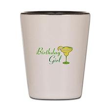Birthday Girl margarita Shot Glass