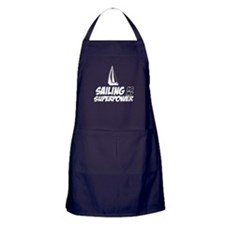 Sailling is my superpower Apron (dark)