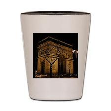 Arc de Triomphe Night Shot Glass